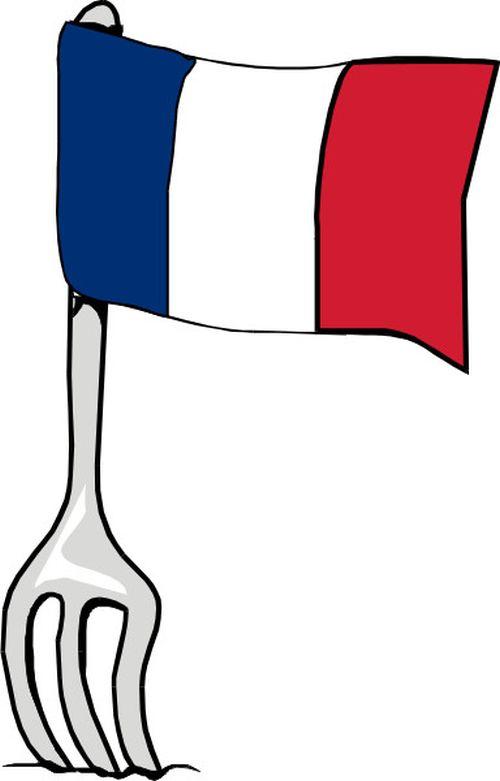 Französische Küche Comic