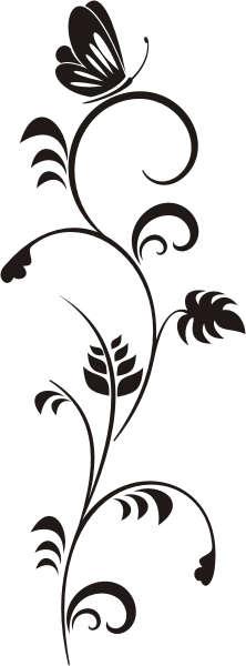 pin schmetterling tattoo tribal ranke schn rkel t rkis von picture on pinterest. Black Bedroom Furniture Sets. Home Design Ideas